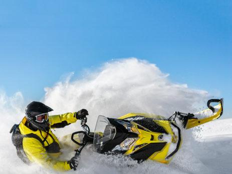 Новые модели снегоходов Ski-Doo